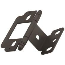 See Details - Non Self-closing, Partial Wrap 3/4 In (19 Mm) Door THICK. HINGE