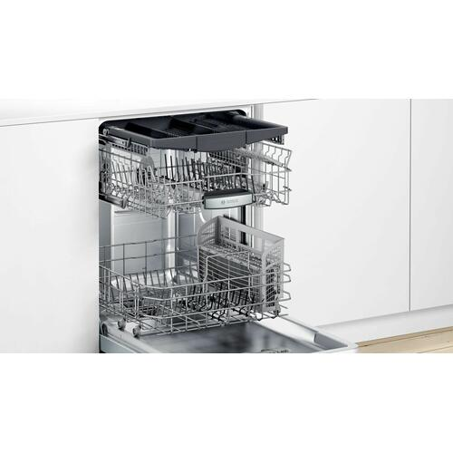 500 Series Dishwasher 24'' Stainless steel, XXL SHPM65Z55N