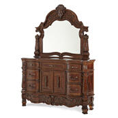 Storage Console- Dresser With Mirror