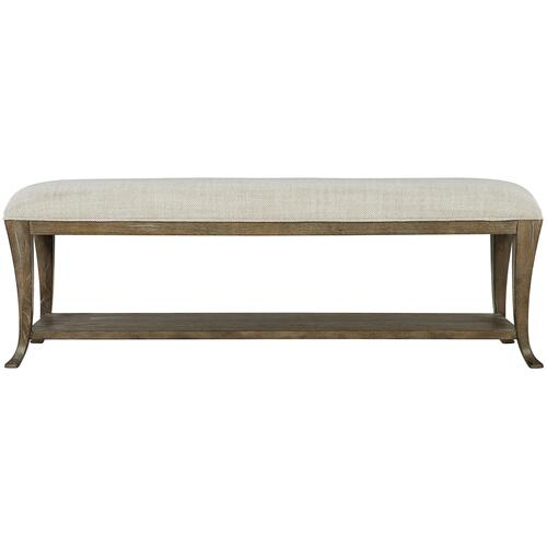 Rustic Patina Bench in Peppercorn (387)