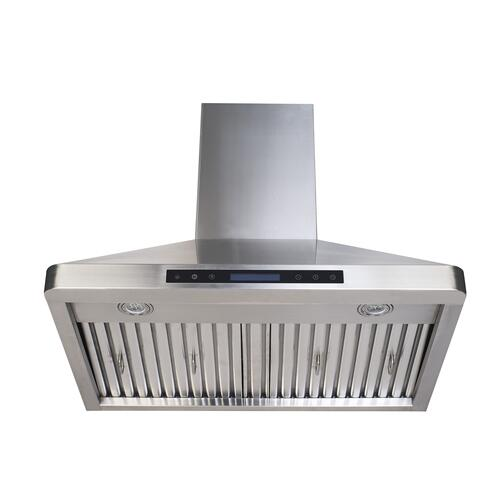 "30"" Stainless Steel Chimney Range Hood"