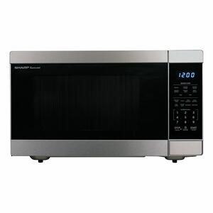 Sharp Appliances1.6 cu. ft. 1100W Stainless Steel Countertop Microwave Oven