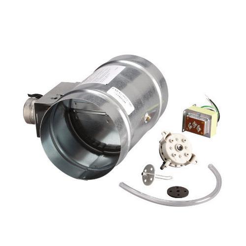 "Broan - 10"" Universal Automatic Make-Up Air Damper with Pressure Sensor Kit"