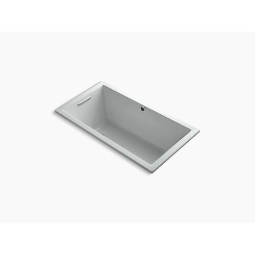 "Ice Grey 60"" X 32"" Drop-in Bath With Bask Heated Surface"