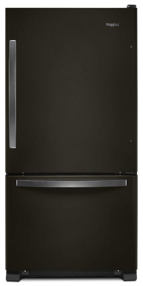 Whirlpool33-Inch Wide Bottom-Freezer Refrigerator - 22 Cu. Ft.