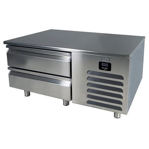 "U-Line - 48"" Freezer Base With Stainless Solid Finish (115v/60 Hz Volts /60 Hz Hz)"