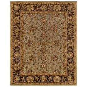 Mumtaz-Meshed Celadon Cocoa - Rectangle - 4' x 6'