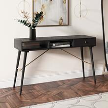 Modrest Bonfoy - Modern Black Ash Console Table