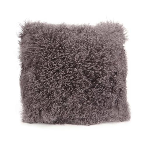 Moe's Home Collection - Lamb Fur Pillow Large Grey