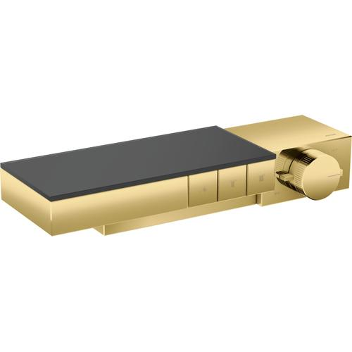 AXOR - Polished Gold Optic Thermostatic Trim for Exposed/Concealed Installation for 3 Functions
