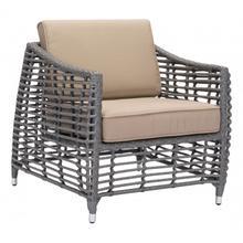 Trek Beach Arm Chair Gray & Beige