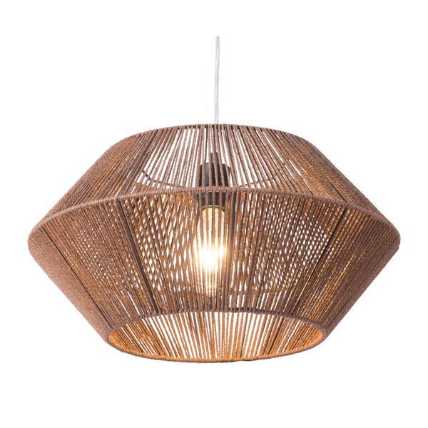 See Details - Kendrick Ceiling Lamp Brown