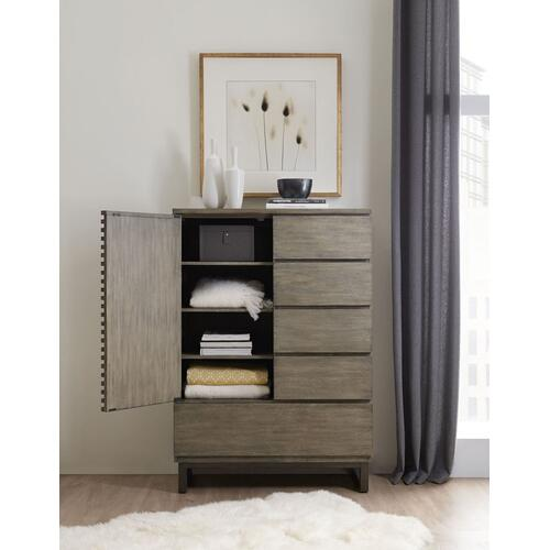 Bedroom Annex Door/Drawer Asymmetrical Chest