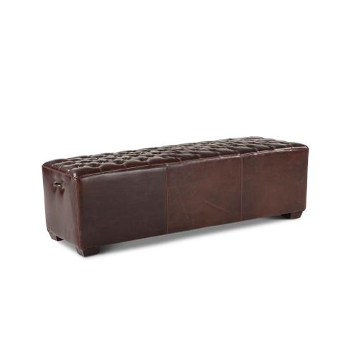 """Product Image - D'Orsay 58"""" Upholstered Leather Bench"""