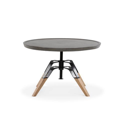 VIG Furniture - Modrest Yates Modern Concrete & Oak Coffee Table