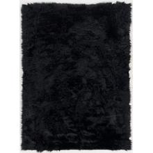 See Details - Faux Sheepqy5 Black 22x34