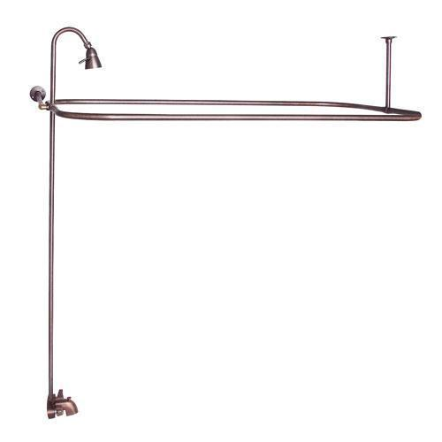 "Rectangular Shower Unit - Oil Rubbed Bronze / 48"" x 24"""