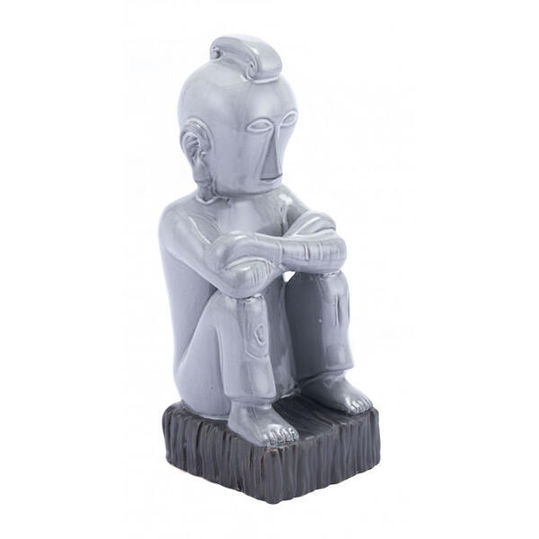 Totem Figurine Gray