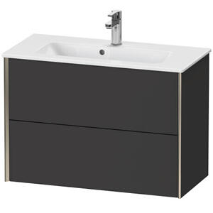 Duravit - Vanity Unit Wall-mounted Compact, Graphite Super Matte