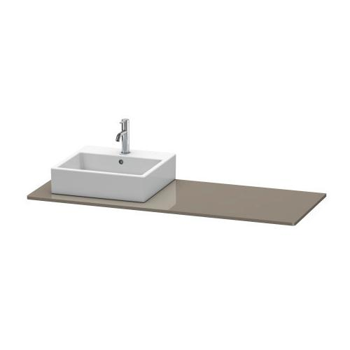 Duravit - Console, Flannel Gray High Gloss (lacquer)