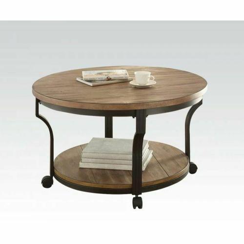 Acme Furniture Inc - ACME Geoff Coffee Table - 80460 - Oak & Black