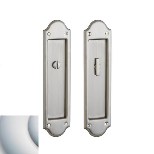Baldwin - Satin Chrome PD016 Boulder Pocket Door