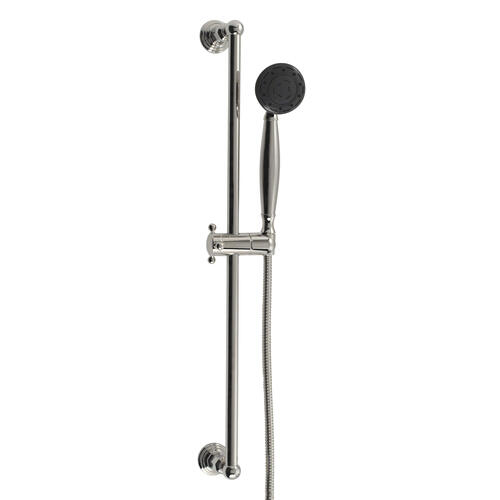 Multifunction Hand Shower With Slide Bar in Polished Rose Gold