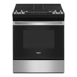 5.0 Cu. Ft. Whirlpool® Gas Range with Frozen Bake™ Technology Product Image