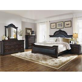 Cambridge Traditional Dark Brown Eastern King Five-piece Set