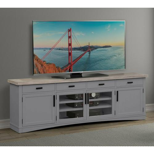 See Details - AMERICANA MODERN - DOVE 92 in. TV Console