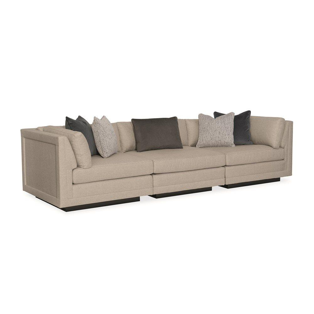 See Details - Fusion 3 Piece Sectional Sofa