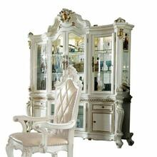 ACME Picardy Hutch & Buffet - 63464 - Antique Pearl