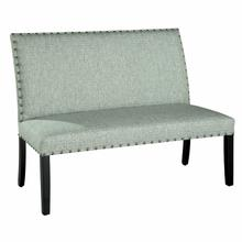 729465 Locke Settee with Nailheads