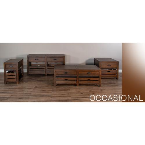 Sunny Designs - Homestead Chair Side Table