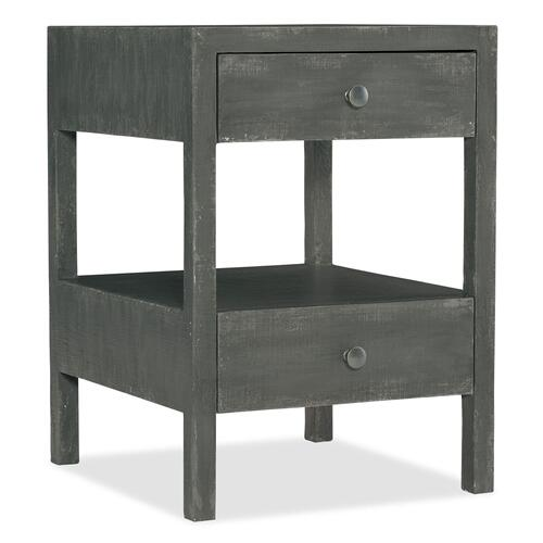 Bedroom Boheme Brussels Two-Drawer Nightstand