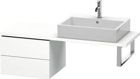 Low Cabinet For Console Compact, White Matte