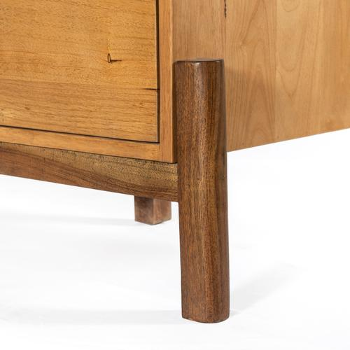 Reza Media Console-smoked Honey