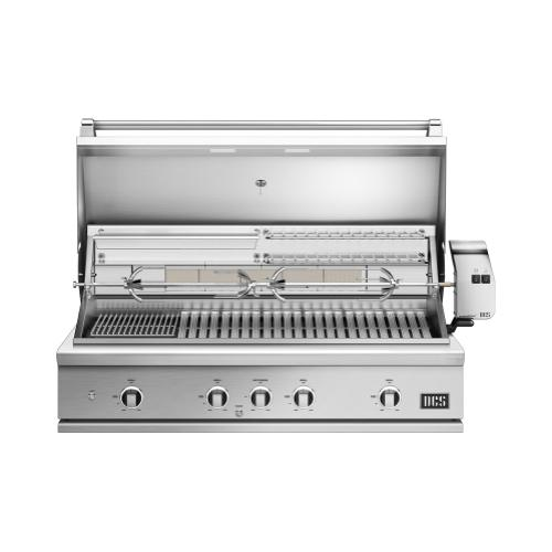 "48"" Grill, Rotisserie and Charcoal, Lp Gas"
