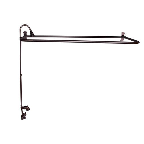 """D"" Rod Shower Unit with Code Spout - Oil Rubbed Bronze / 60"" x 26"""