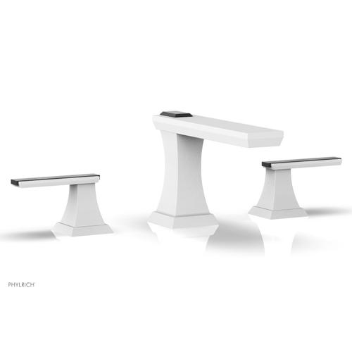 WAVELAND Widespread Faucet - Satin White