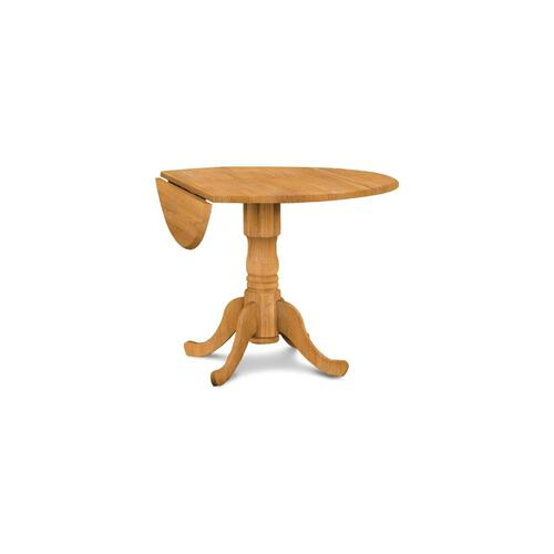 John Thomas Furniture - Dropleaf Pedestal Table