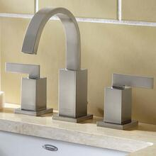 View Product - Times Square Arched Widespread Faucet - Brushed Nickel