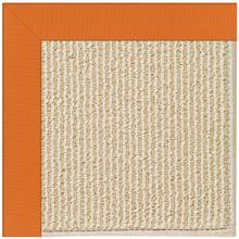 Creative Concepts-Beach Sisal Canvas Tangerine Machine Tufted Rugs