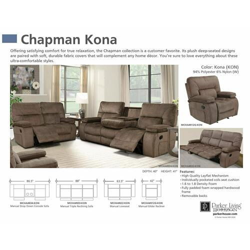 CHAPMAN - KONA Manual Reclining Collection