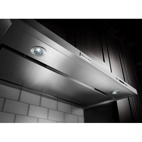 30'' Under-the-Cabinet, 4-Speed System Stainless Steel