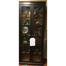 2 door bunching display case