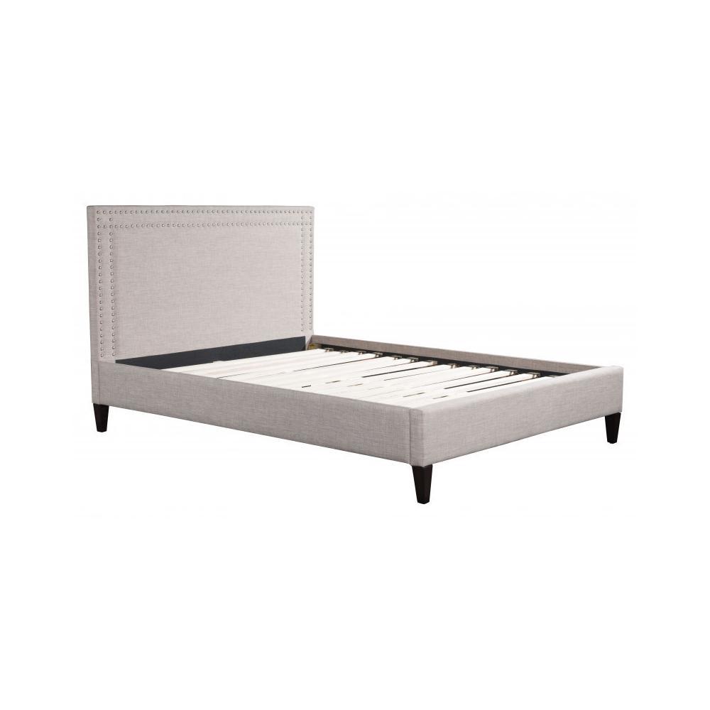Renaissance King Bed Gray