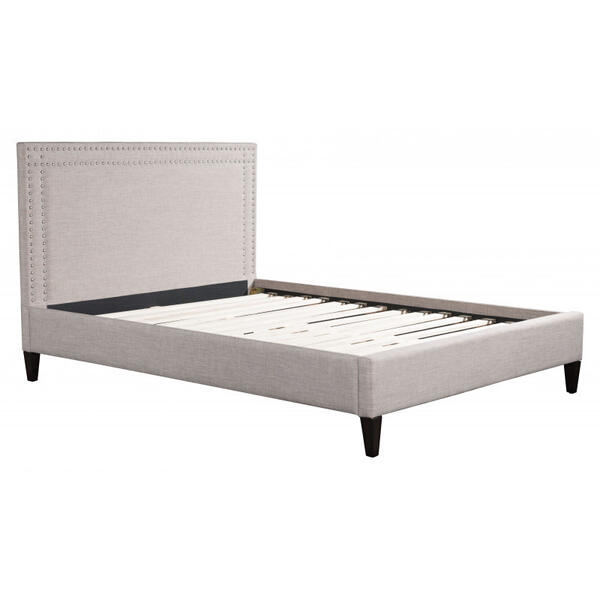Renaissance King Bed Gray