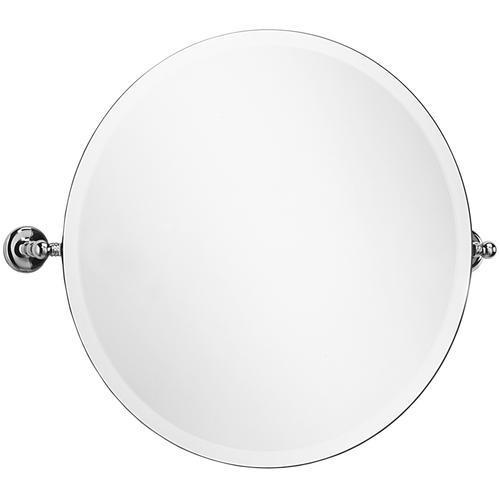 """Samuel Heath - Antique Gold Tilting mirror, 26"""""""