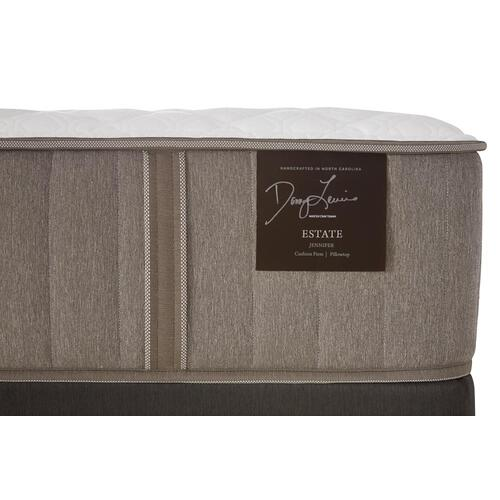 Estate Collection - F4 - Euro Pillow Top - Plush - Cal King